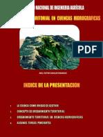 PRESENTACION SOBRE ORDENAMIENTO TERRITORIAL EN CUENCAS HIDROGRÁFICAS - CONGRESO INGENIERIA AGRICOLA