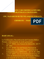 Diapositiva de La Ley de Profesionalizacion