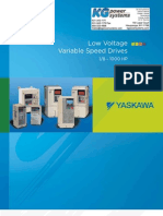 Yaskawa Low Voltage Drives