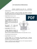 Procesos de Construcción en sunestructuras.
