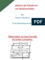 Expo Observadores Con Multivariable