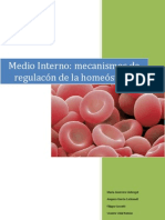 Medio Interno Mecanismos Homeostaticos