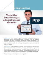 eRegistrations Brochure ESP