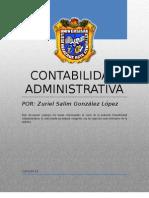 Conta Administrativa Final