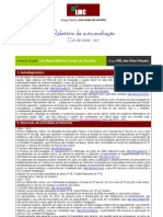 2009 - 2011_relatório de auto-avaliação do desempenho docente