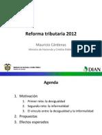 2012 10 09 Reforma Tributaria