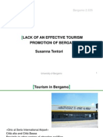 Lack of a Smart Tourism Promotion Susanna Tentori Revised
