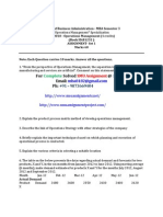 Solved, OM0010 - Operations Management