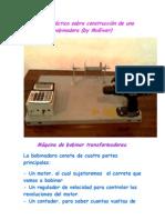 Manual práctico sobre construcción de una bobinadora