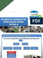 Presentación Inducción del Plan de Estudio - CE2012