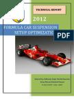 Optimization of Formula Car Double Wishbone Suspension System