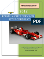 Optimization of Formula Car Double Wishbone Suspension System