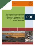 Plan de Manejo de Visitantes Área Marina y Costera Protegida Isla Grande de Atacama