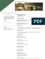 Lições Bíblicas CPAD - 4º Trimestre 2009 - Lição 9