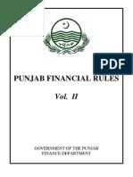 27364Punjab Financial Rules Vol II