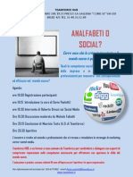 Analfabeti o Social, workshop 4 dicembre 2012