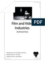 Film and Video Industries - Module Number