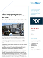 Bista Lakozy Toyota BPM Case Study