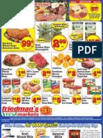 Friedman's Freshmarkets - Weekly Specials - December 13 - 19, 2012
