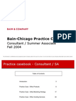 Bain Chicago Practice Casebook
