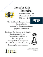Chess Fall 2012EXT