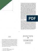 Reading Capital