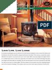 Leyden Lopi Top Loading Cast Iron Wood Stove