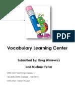 EDRL442_fall2012_michaelFEHER_literacyCenter.docx