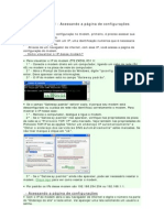 Comfigurando Moldem Adsl Zte Zxdsl 831 II