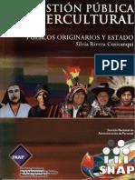 RIVERA CUSICANQUI Silvia - Pueblos Originarios y Estado (2008)