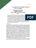 An Integrative Approach to Teaching Advanced