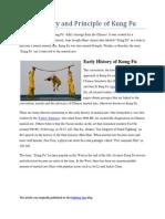 Basic History and Principle of Kung Fu