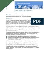 PSP Fact Sheet _May 2012