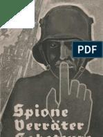Spione - Verräter - Saboteure Eine Aufklärungsschrift für das Deutsche Volk, Oberkommando derWehrmacht - Nr. 650/51