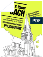 Christ Church Southgate 150th Anniversary Concert - 25th November 2012