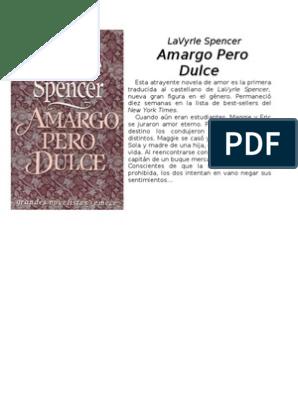 b5d57d8814a3 Lavyrle Spencer - Amargo Pero Dulce | Humor | Aluminio