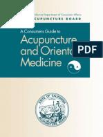 Acupunture and Oriental Medicine