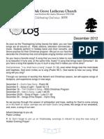 LOG December 2012-1
