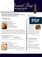 the gourmet scoop - november 2012
