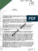 Memorandum from the East German Director of Signals Intelligence (Major-General Horst Männchen) to the Deputy Director of the East German Ministry of State Security (Lieutenant-General Gerhard Neiber)  (1984)