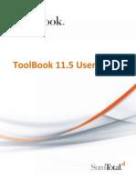 ToolBook 11.5 User Guide