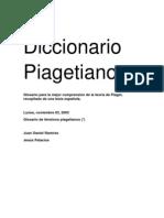 Diccionario Piagetiano