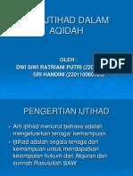 BERIJTIHAD DALAM AQIDAH