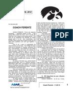 Coach Ferentz - 11 28 12
