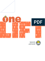 LIFT Impact Report 2012 | Organizational Culture | Poverty