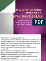 Relatia Intre Hormonii Estrogeni Si Contraceptivele Orale