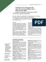 Epidemiologia de ROP en Hospitales Publicos en Argrntina