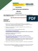 Taller de Recuperacion Final - Informatica - Noveno