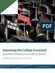 Improving the College Scorecard