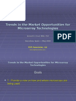 Micro Array Technology and Markets